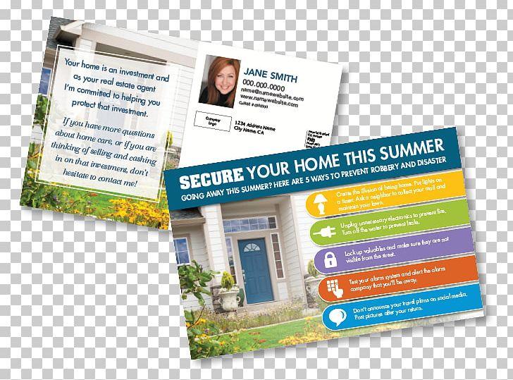 Estate Agent Real Estate Post Cards Advertising Postcard PNG