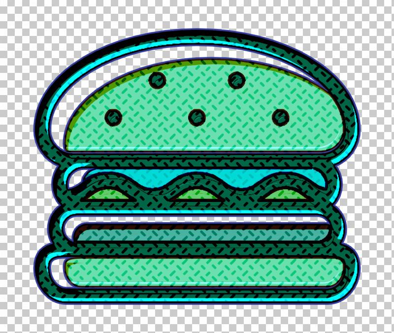 Burger Icon Linear Color Food Set Icon Food Icon PNG, Clipart, Burger Icon, Food Icon, Green, Hamburger Icon, Linear Color Food Set Icon Free PNG Download
