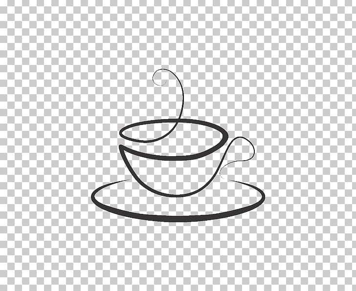 Coffee Cup Teacup Mug Sticker PNG, Clipart, Artwork, Black And White, Circle, Coffee, Coffee Cup Free PNG Download