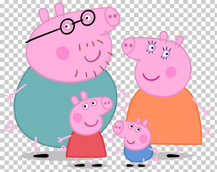 Daddy Pig Mummy Pig Family Entertainment One PNG, Clipart, Animals