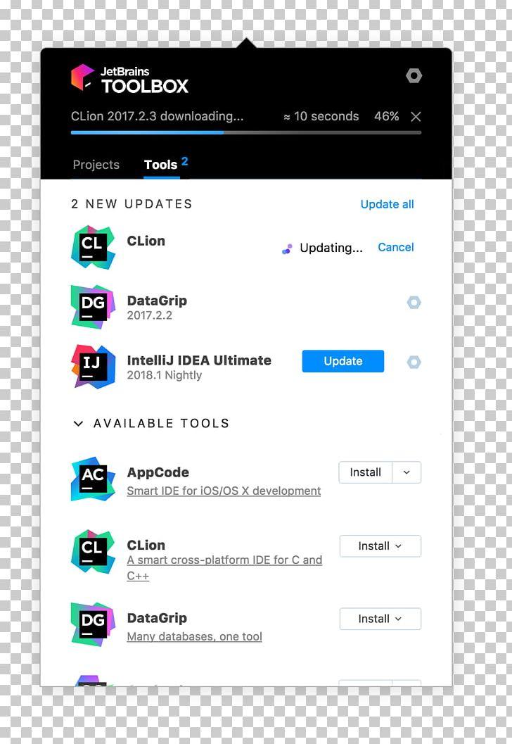 JetBrains IntelliJ IDEA CLion AppCode Integrated Development