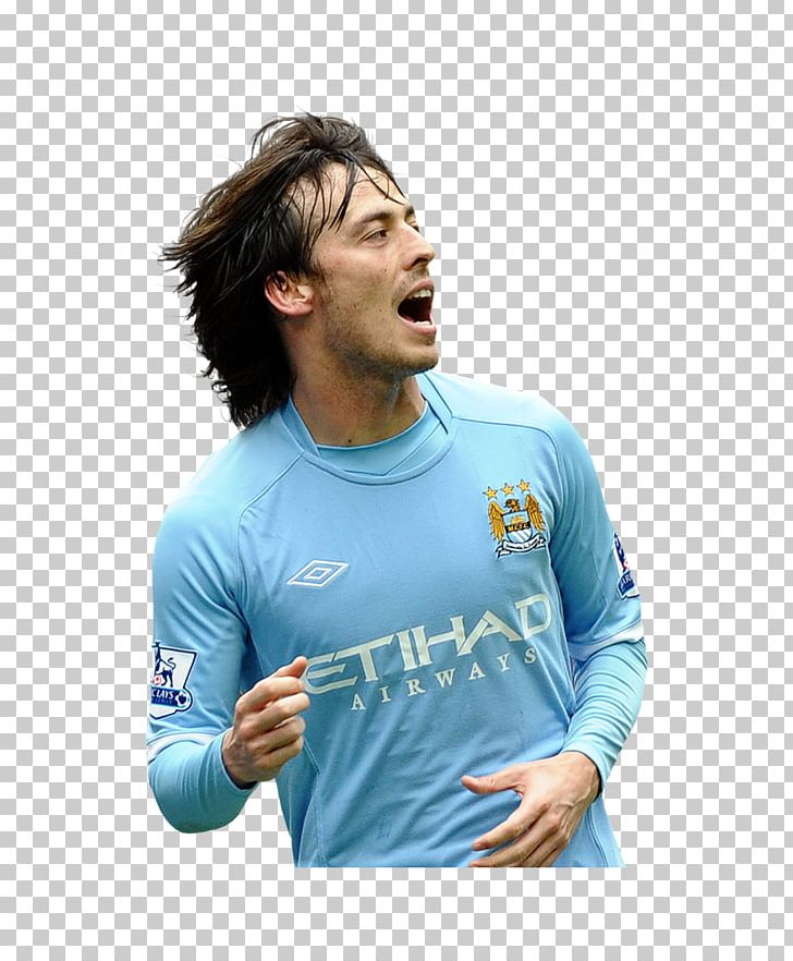 best sneakers 1a8a4 03726 David Silva Manchester City F.C. T-shirt Manchester United ...