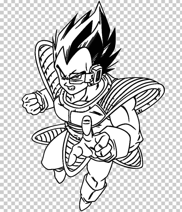Vegeta Goku Gohan Majin Buu Goten Png Clipart Arm Art