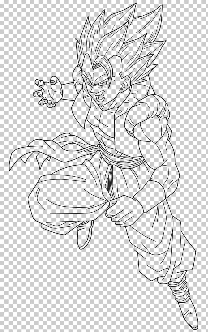 Goku Vegeta Line Art Dragon Coloring Pages Frieza Png