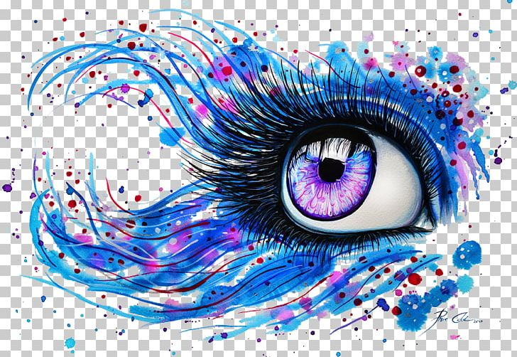 Watercolor Painting Abstract Art Drawing Eye Png Clipart
