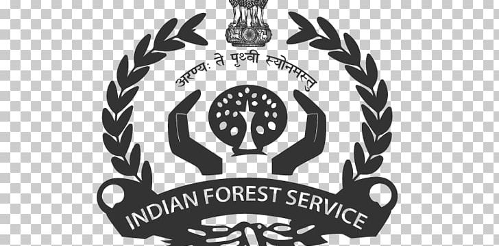 IFS Exam Indian Forest Service Civil Services Exam Union Public Service Commission PNG, Clipart, Badge, Black And White, Brand, Civil Service, Civil Services Exam Free PNG Download