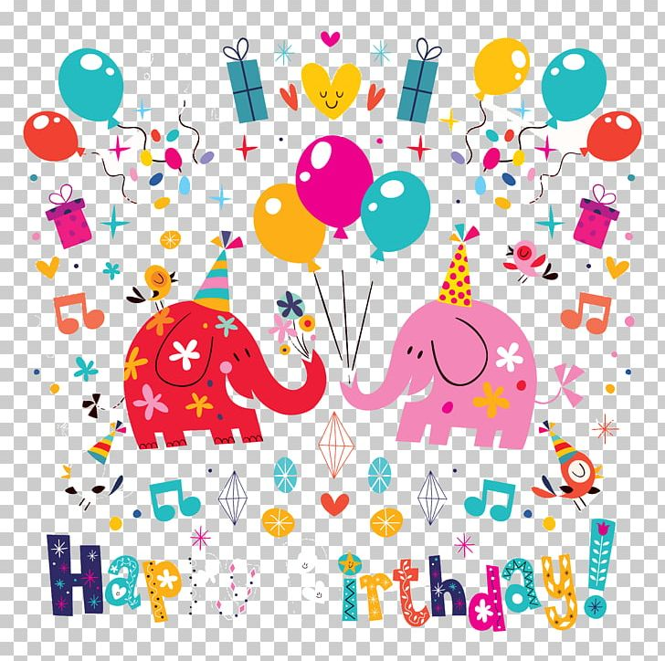 Anniversary Birthday Illustration PNG, Clipart, Artwork, Background Vector, Birthday Card, Encapsulated Postscript, Greeting Free PNG Download