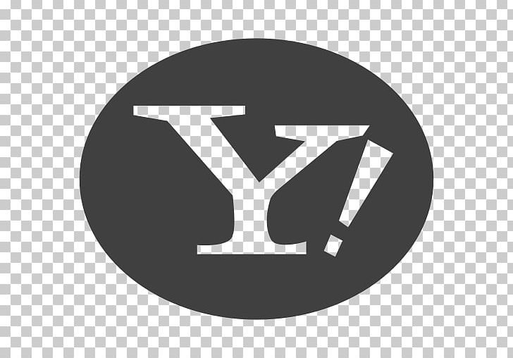 Yahoo Mail Email Yahoo Search Logo Png Clipart Black And White Brand Circle Computer Icons Domain