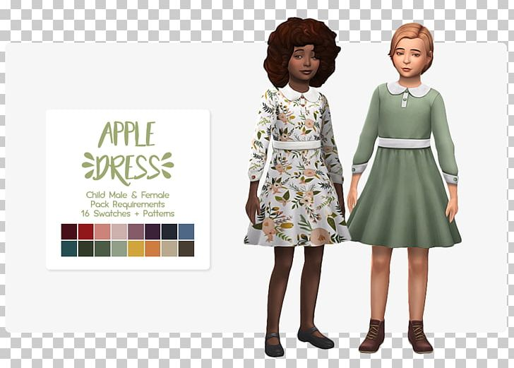 The Sims 4 Dress Clothing The Sims Freeplay Formal Wear Png Clipart Clothing Day Dress Dollhouse