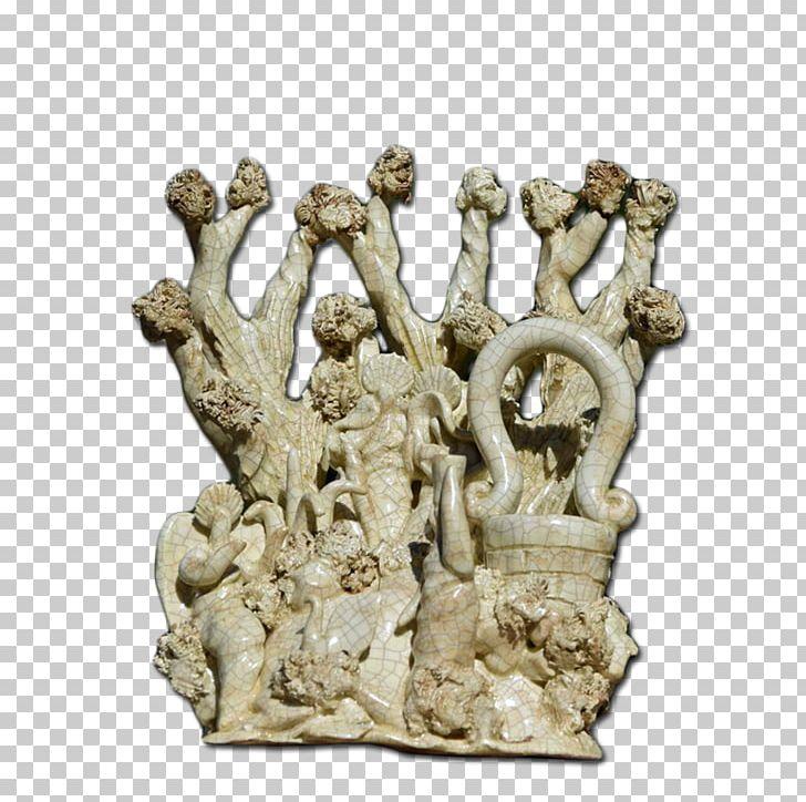 Nativity Scene Christmas Tree Santa Claus Ceramic Png Clipart