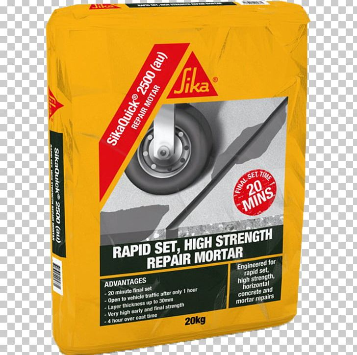 Mortar Concrete Sika AG Construction Product PNG, Clipart