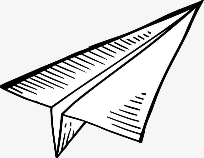 Cartoon Paper Airplane Png Clipart Airplane Airplane