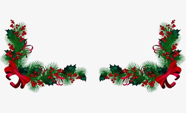 Christmas Decorating Clip Art.Green Christmas Decorations Png Clipart Christmas