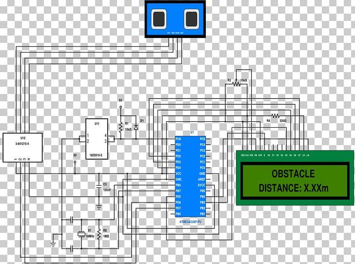 Ultrasound Schematic Sensor Diagram Ultrasonic Transducer PNG