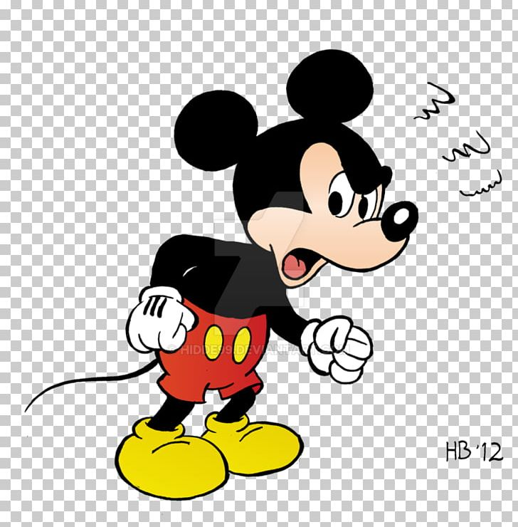 Mickey Mouse Minnie Donald Duck Goofy PNG Clipart Angry
