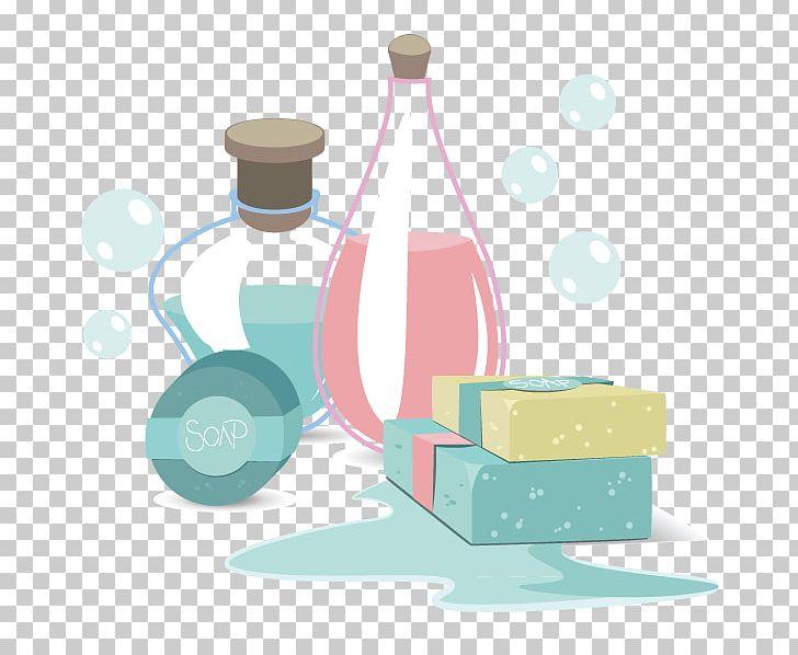 Bubbles bottle. Soap bubble png clipart