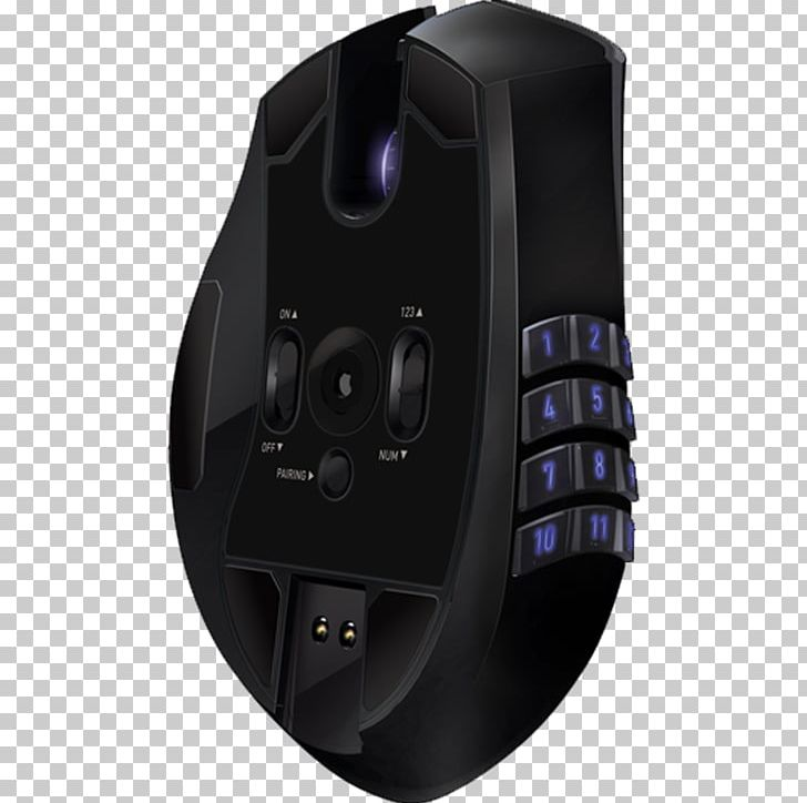 Computer Mouse Razer Naga Epic Chroma Wireless Numeric