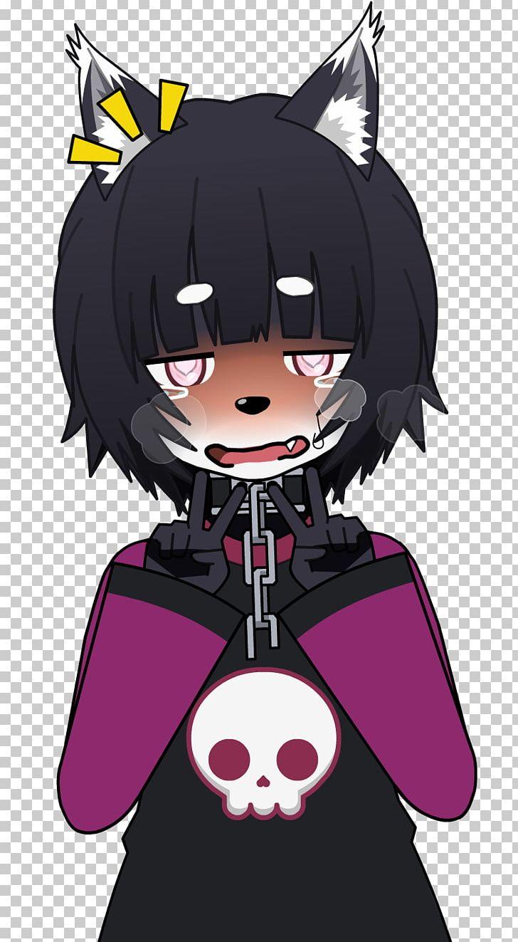 Ahaego black hair mangaka legendary creature cartoon png, clipart