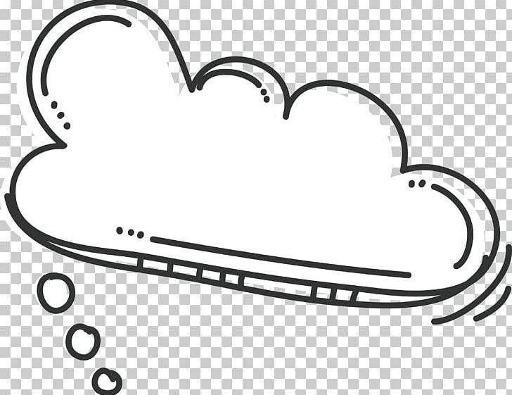 Bubble Cloud Vecteur PNG, Clipart, Area, Auto Part, Black And White, Bubbles, Bubbles Vector Free PNG Download