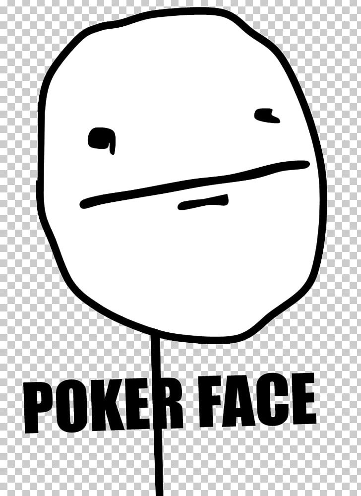 Internet Meme Poker Face Rage Comic Blank Expression Png Clipart Angle Area Black Black And White