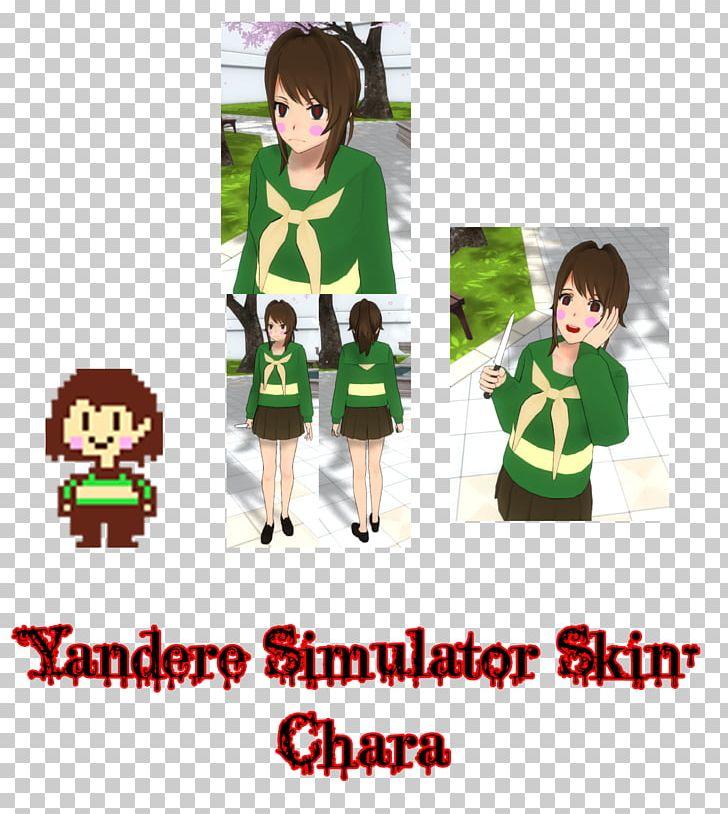 Yandere Simulator Undertale Minecraft Skin PNG, Clipart