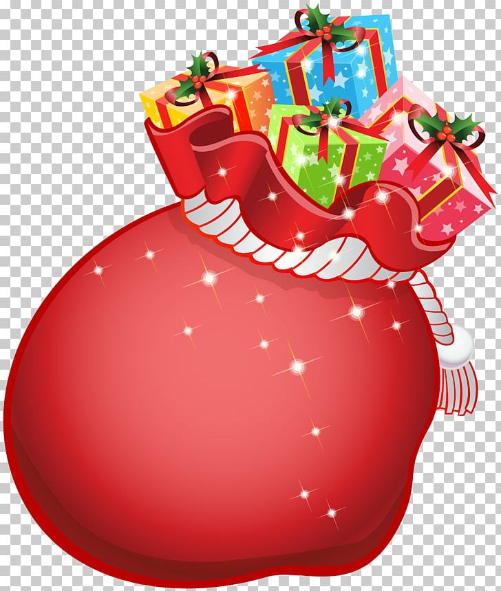 Santa Claus Gift Christmas PNG, Clipart, 3d Rendering, Bag, Christmas, Christmas Decoration, Christmas Ornament Free PNG Download
