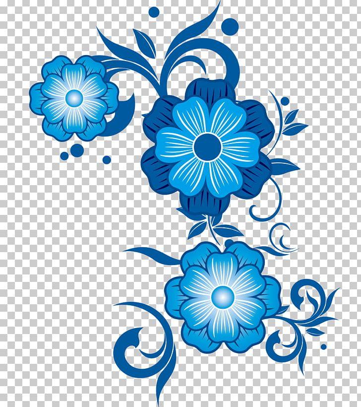 Flower Blue Pattern PNG, Clipart, Blue, Blue Flowers, Blue