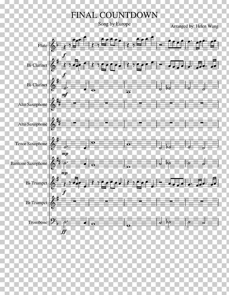 Sheet Music Marching Band Musical Ensemble The Final