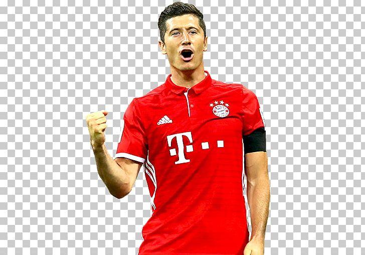 pretty nice 09d72 fadb0 Robert Lewandowski FIFA 17 FC Bayern Munich Jersey FIFA 18 ...