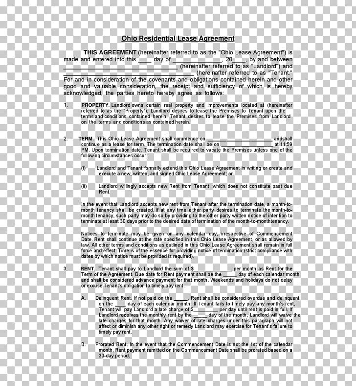 Rental Agreement Contract House Renting Lease Png Clipart