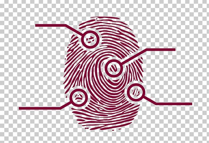 Fingerprint Forensic Science Png Clipart Area Circle Clip Art Finger Fingerprint Free Png Download