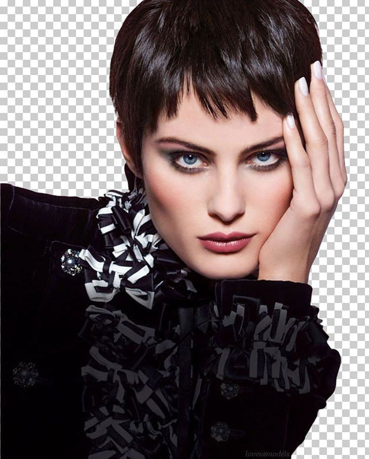 Coco Chanel Black Hair Fashion Little Black Dress Png
