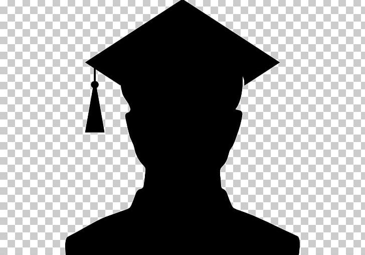 Graduation Ceremony Silhouette School Student PNG, Clipart, Academic Dress, Animals, Black, Black And White, College Free PNG Download