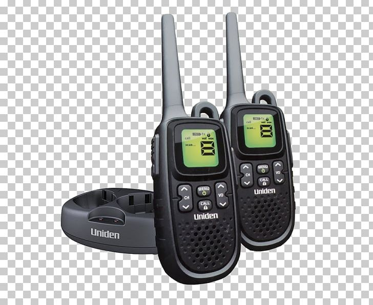 Walkie-talkie Uniden PMR446 Two-way Radio General Mobile Radio Service PNG, Clipart, Aerials, Communication, Electronic Device, Electronics, Family Radio Service Free PNG Download