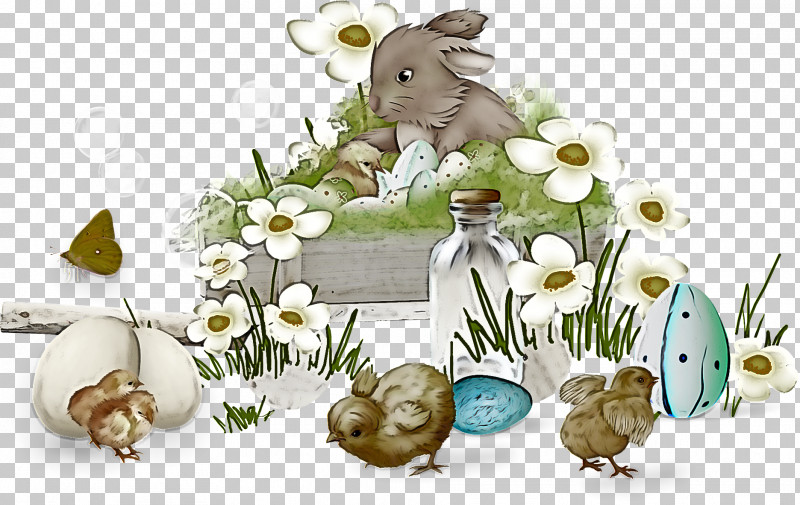 Hare Grass Mouse Plant Easter PNG, Clipart, Animal Figure, Easter, Flower, Grass, Hare Free PNG Download