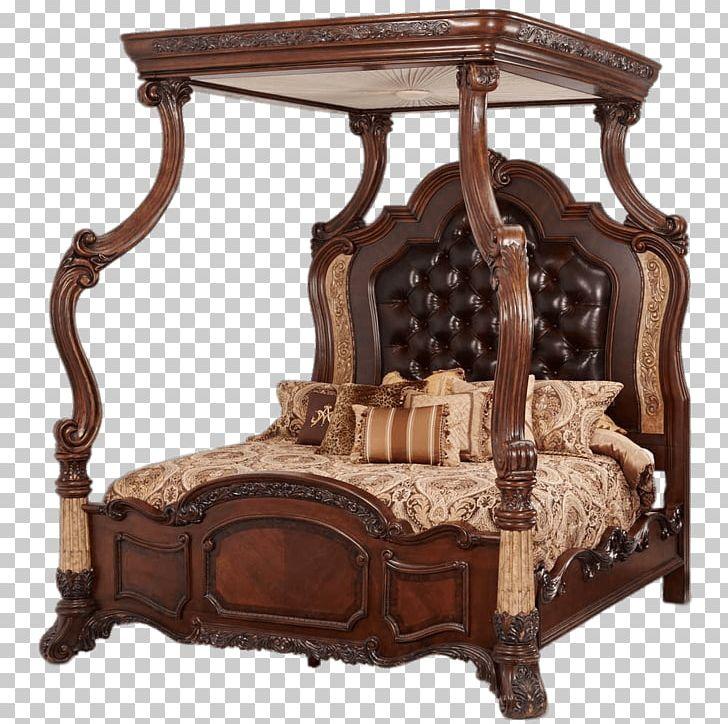 Bedside Tables Canopy Bed Bedroom Furniture Sets PNG ...