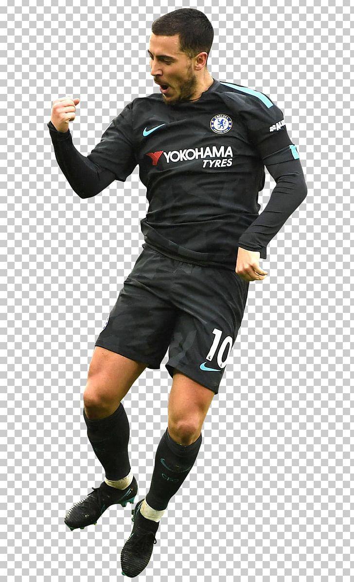 timeless design 093f9 935e6 Eden Hazard Jersey Chelsea F.C. Football Player PNG, Clipart ...