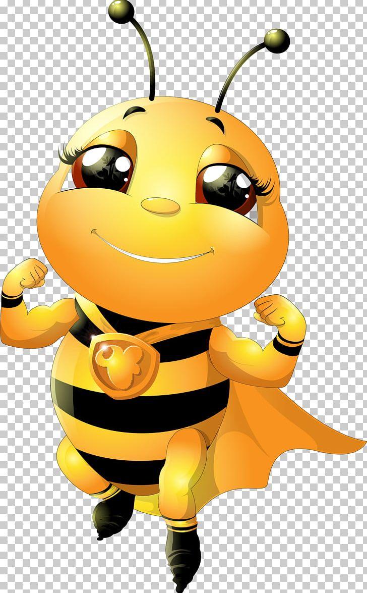 Bumblebee Cartoon Honey Bee PNG, Clipart, Beehive, Bee ...