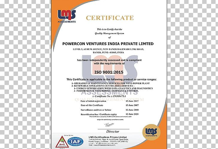 ISO 9000 Limited Company Industry Information PNG, Clipart, Area