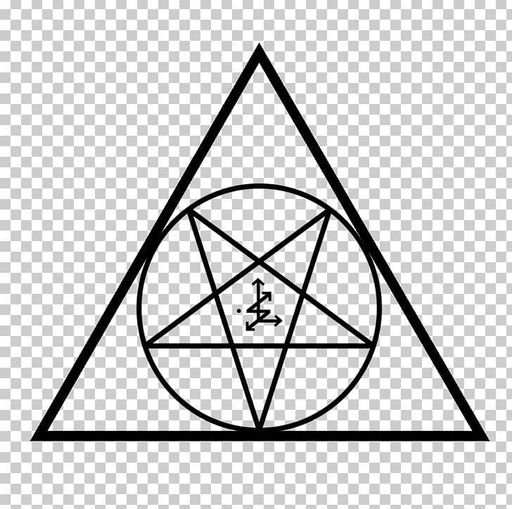 Lucifer Pentagram Satanism Sigil Of Baphomet PNG, Clipart, Angle, Area, Baphomet, Black, Black And White Free PNG Download