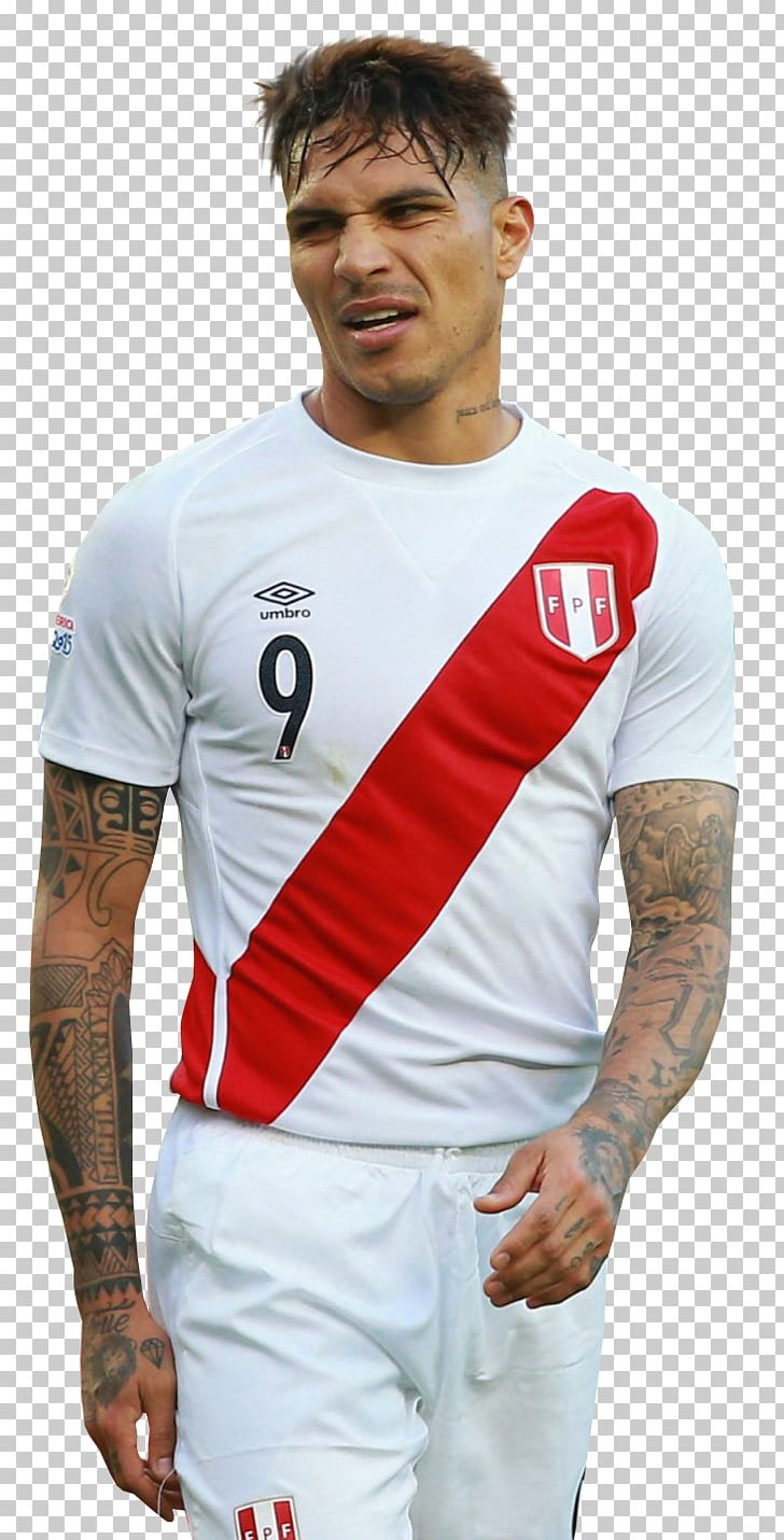 3ac128bd9a0 Paolo Guerrero Peru National Football Team Jersey Soccer Player PNG ...