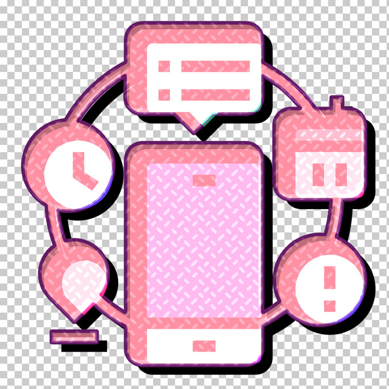 Automation Icon Home Automation Icon Technologies Disruption Icon PNG, Clipart, Automation Icon, Home Automation Icon, Line, Pink, Technologies Disruption Icon Free PNG Download