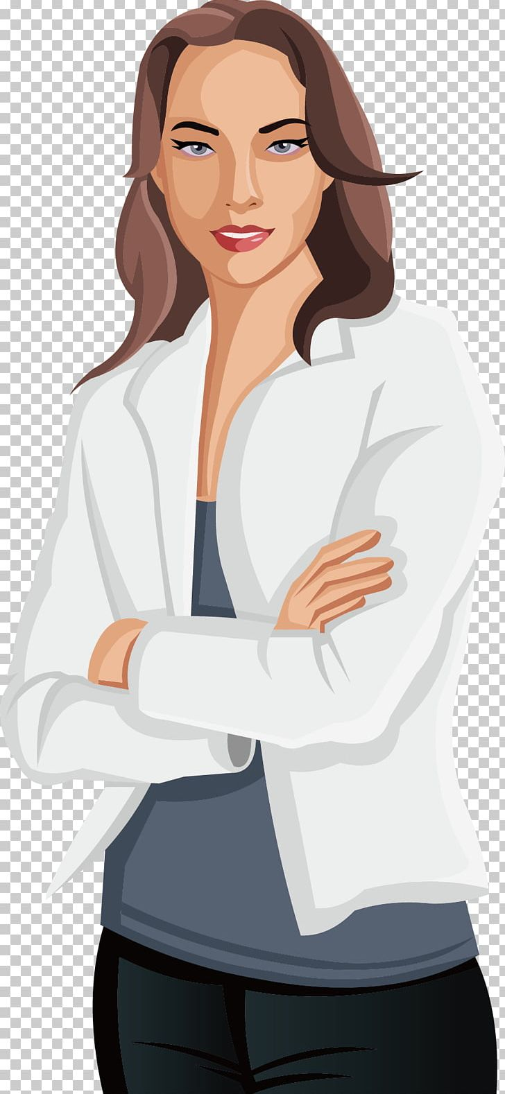 Woman Cartoon Illustration PNG, Clipart, Arm, Black Hair, Business, Business Woman, Cartoon Woman Free PNG Download