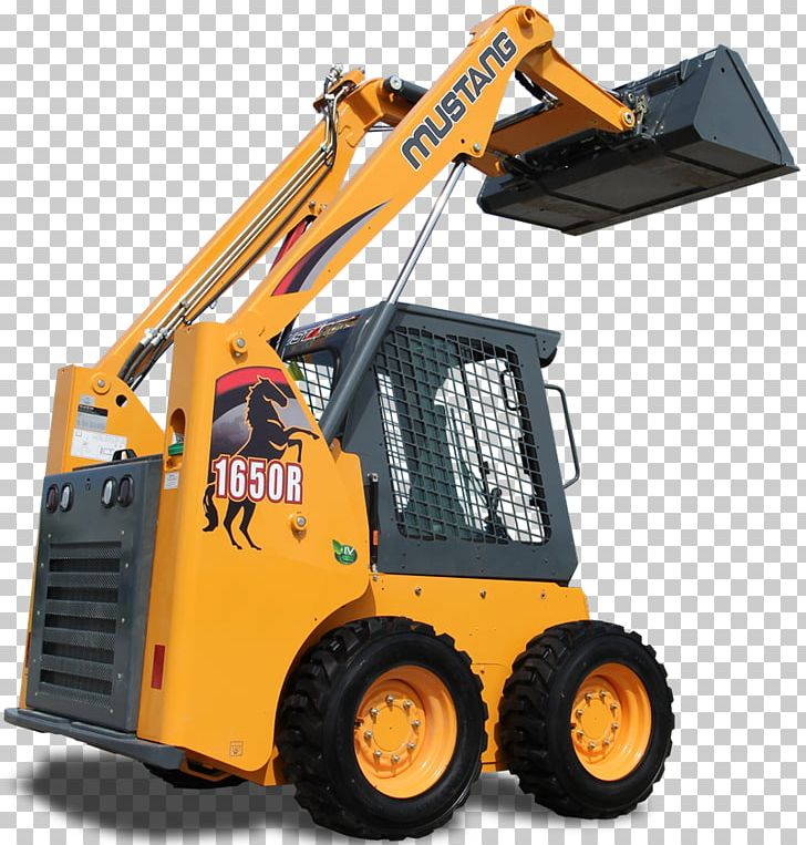 Bulldozer Heavy Machinery Skid-steer Loader PNG, Clipart