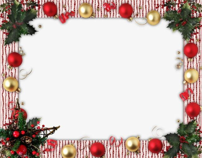 Christmas Backgrounds Png.Christmas Flower Decoration Border Background Png Clipart