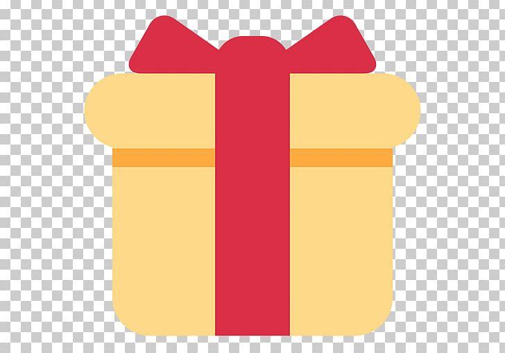 Gift Emoji Sms Birthday Christmas Png Clipart Angle