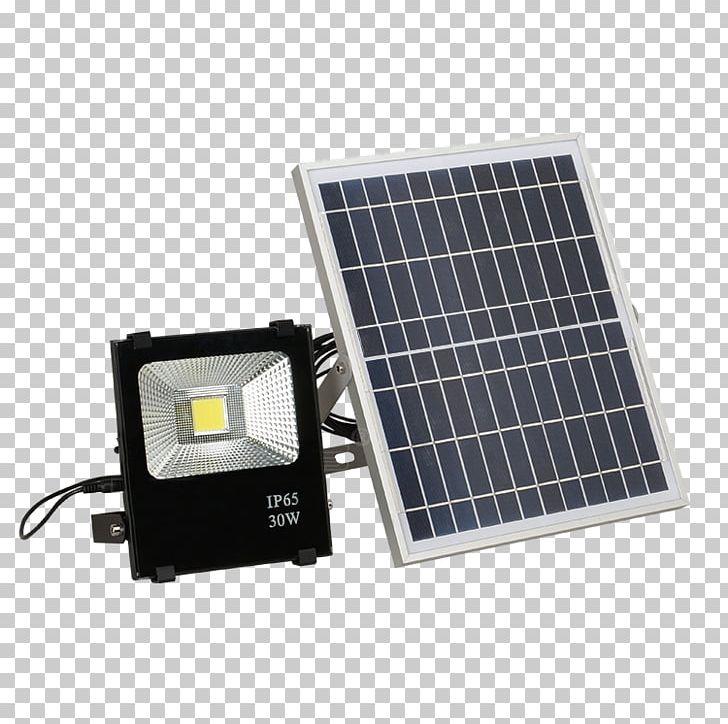 Battery Charger Solar Lamp Solar Power Garden Floodlight PNG