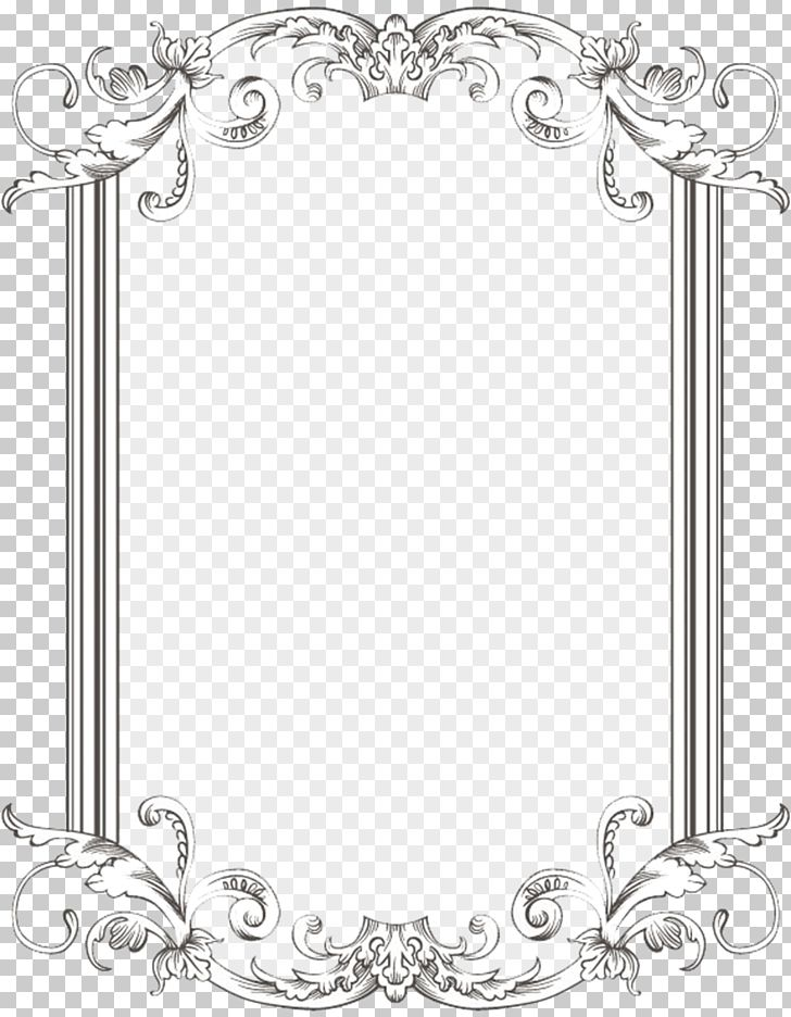 Borders And Frames Frames PNG, Clipart, Antique, Area, Art, Black And White, Body Jewelry Free PNG Download