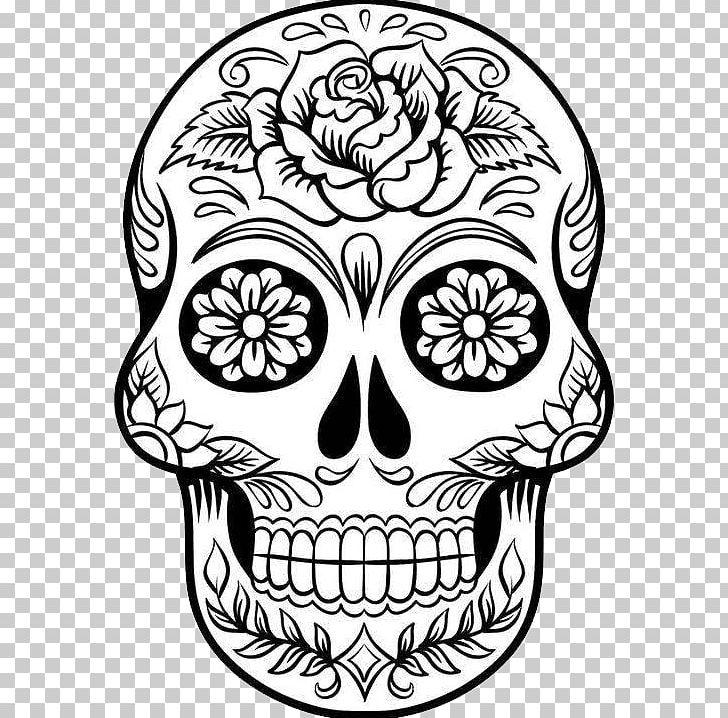 foto de Calavera Drawing Skull Art PNG Clipart Art Artwork Black And White Bone Calavera Free PNG