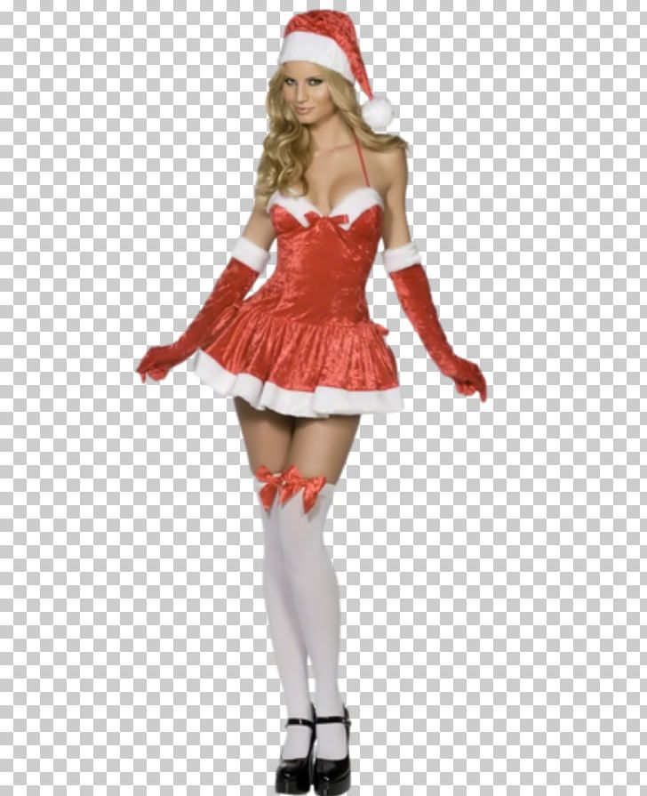 0683eb9a5a9 Santa Claus Costume Party Dress Christmas PNG